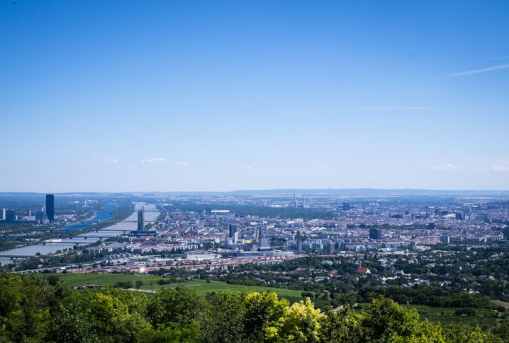 Panorama view of Vienna - Private guided tours
