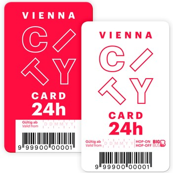 Vienna City Card samples