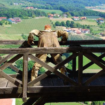 Riegersburg castle, Volcabo land, Styria, Austria