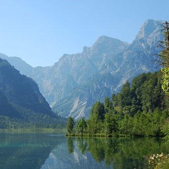 Hiker's Heaven, Almsee, Almtal, Salzkammergut, Upper Austria, Austria