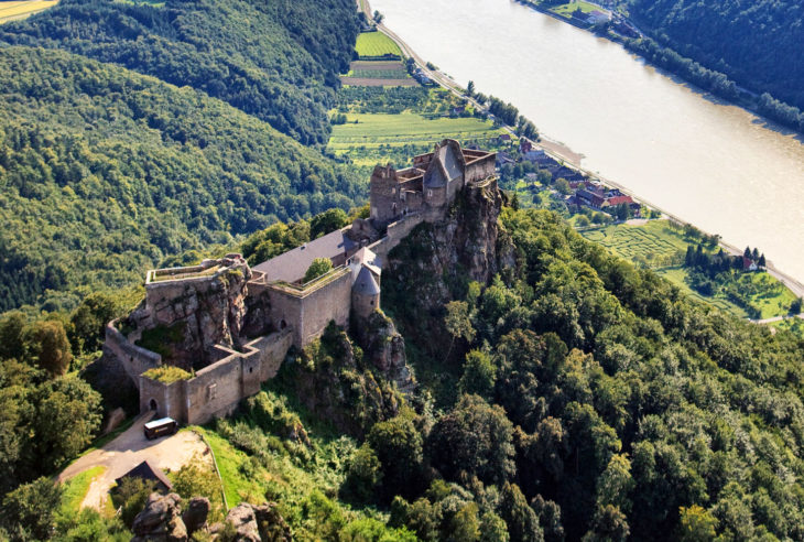 Aggstein Castle, Lower Austria, Austria