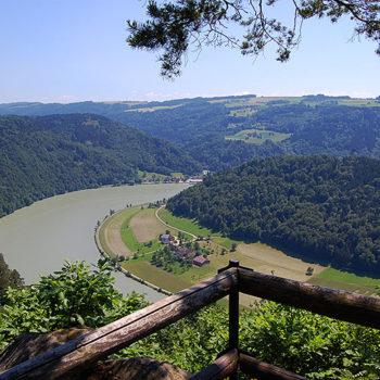 Hiker's Heaven, Danube, Upper Austria, Austria