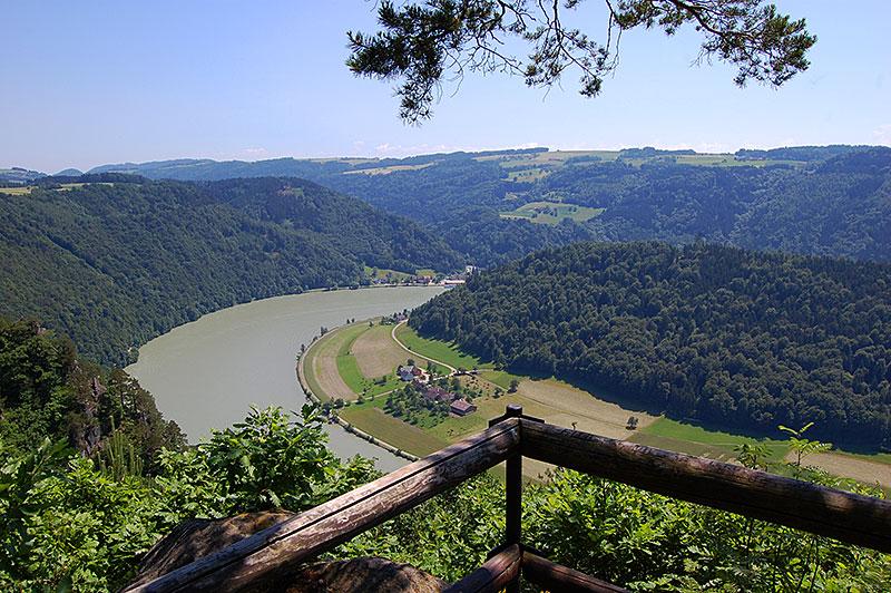 Fantastic viewpoints, Steiner Felsen, Upper Austria