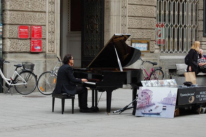 Piano concert, Graz, Styria, Visiting Austria