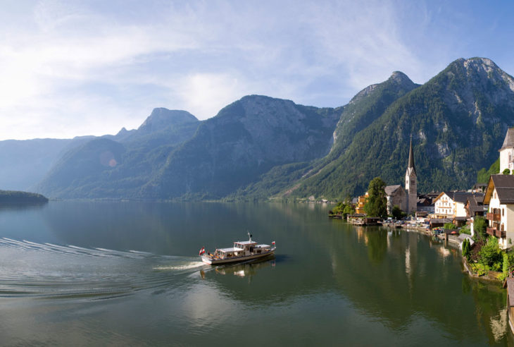 UNESCO World heritage site Hallstatt, Upper Austria, Austria