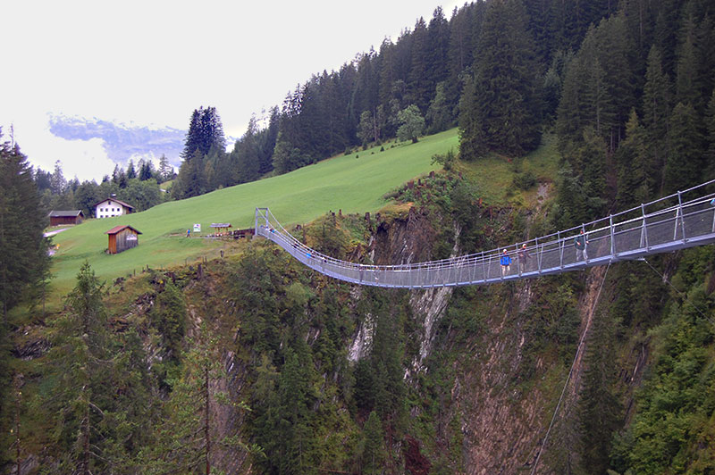 Holzgau, Tyrol, Visiting Austria