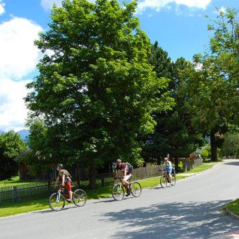 biking in Mauterndorf, Lungau, Salzbuergerland, Austria