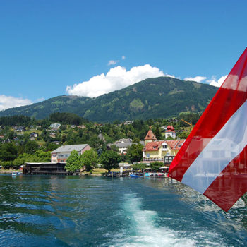 Best boat trips, Lake Millstatt, Carinthia, Travel destination Austria