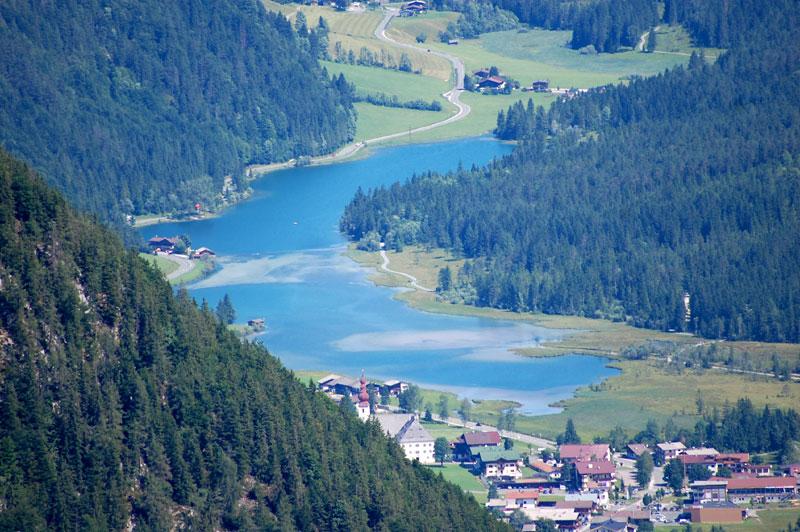 lakeside highlights, Pillerseetal, Tyrol, Austria