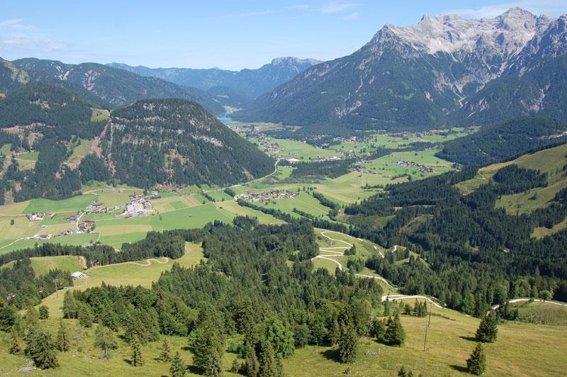Fantastic viewpoints, Jakobskreuz, Tyrol, Austria