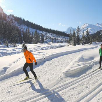 winter sports paradise, Arlberg, Vorarlberg, Austria