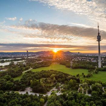 The Danube Tower, A weekend in Vienna, Austria
