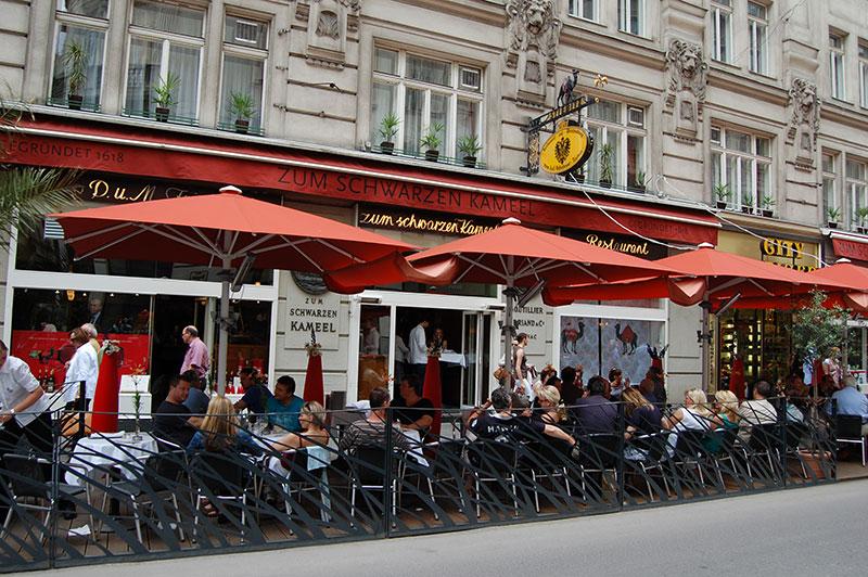 Café Schwarzer Camel, Vienna, Austria