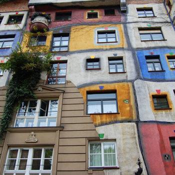 Hundertwasserhaus, A weekend in Vienna, Austria