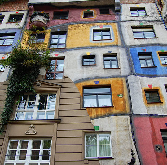 Hundertwasserhaus, A weekend in Vienna, Austria