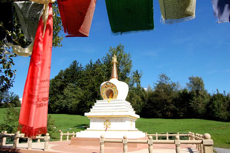 Buddhist Temple Tashi Rabten, Feldkirch, Vorarlberg, Austria