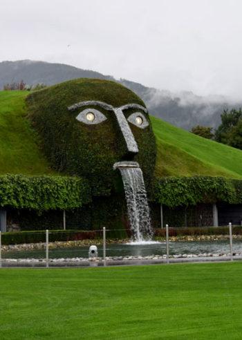 rainy day, Swarovski, Tyrol, Austria