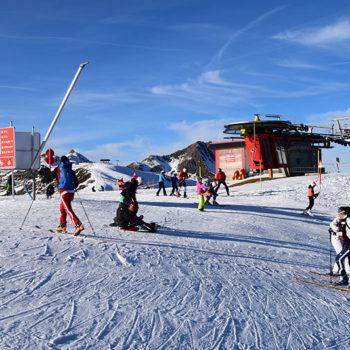 winter sports paradise, Austria, Mittersill, Salzburgerland, Austria