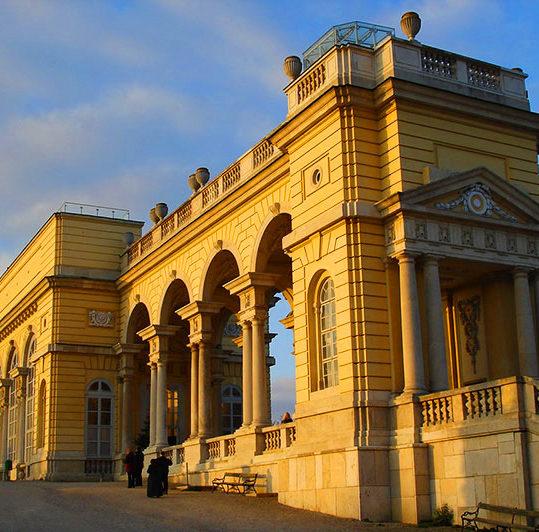 Gloriette, Schönbrunn Palace, viewing points in Vienna, Austria