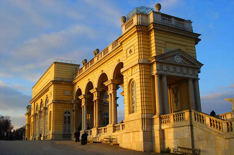 Gloriette, Schönbrunn Palace, Vienna, Austria