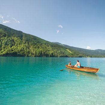 lakeside highlights, Weissensee, Carinthia, Austria