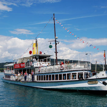 Best boat trips, at Wörthersee, Carinthia, Austria
