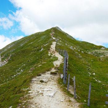 Hiking to Speiereck, Mauterndorf, Lungau, Salzburgerland, Austria