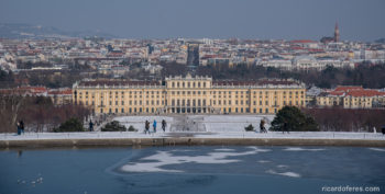 Winter in Vienna, Austria