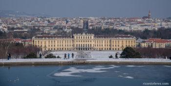 Winter in Vienna, Austria