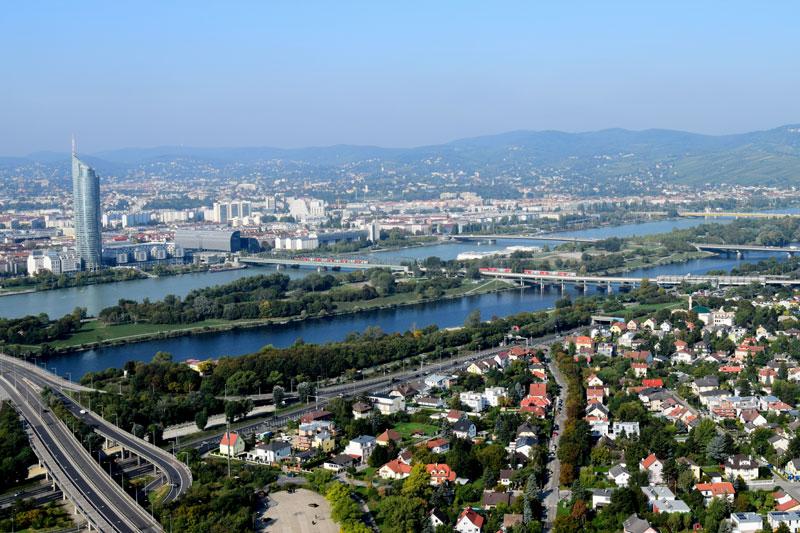The best viewing points in Vienna, Austria