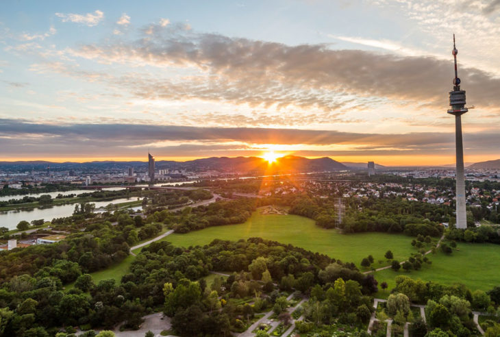 Donauturm, Vienna, Austria