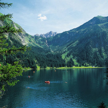 Vilsalpensee, Tyrol, Austria