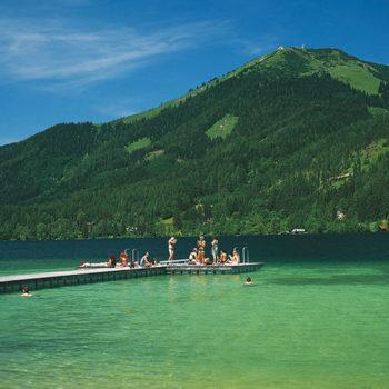 Erlaufsee, Styria, Lower Austria, Beach Holiday in Austria
