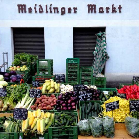 Meidlinger Markt, Vienna, Austria