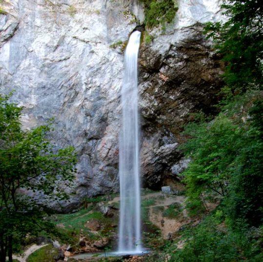 Wildsteiner waterfall, Southern Carinthia, Austria
