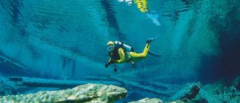 Scuba diving in Austria