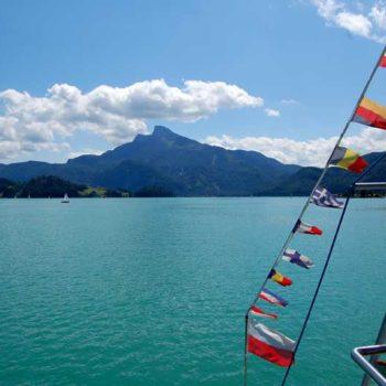 The best boat trips in Austria, Mondsee, Upper Austria