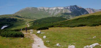Hiking on Schneeberg in Austria