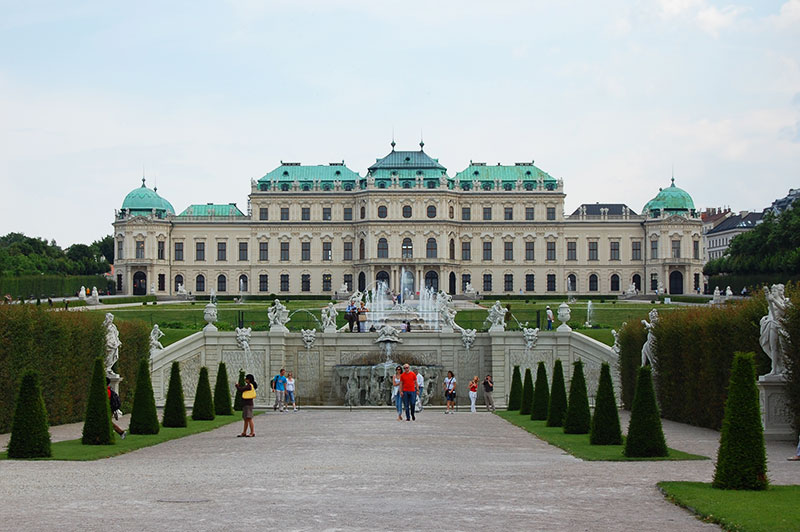 Schloss Belvedere, Vienna, Austria