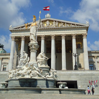 Austria's parlement in Vienna