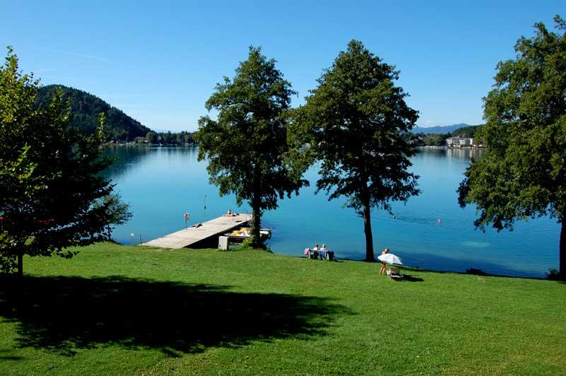 Best beach holiday destinations in Austria, Klopeiner See in Carinthia
