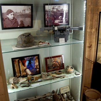 WWII museum in Haus des Meeres, Vienna, Austria