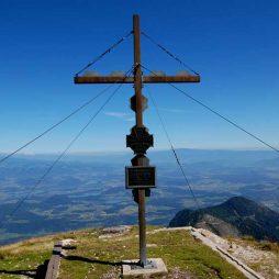 The summit of Hochobir, Carinthia, Austria