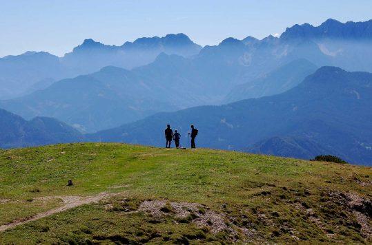 Summit hike to Hochobir, Carinthin, Austria