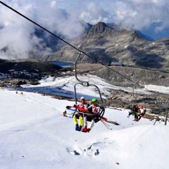 Mölltaler Glacier, Carinthia, Austria