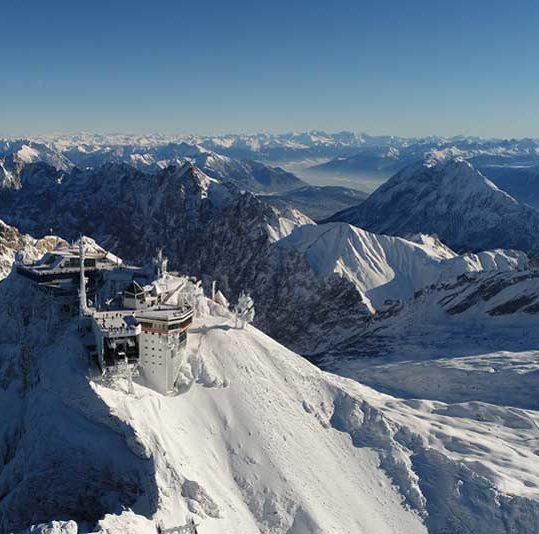 Zugzpitze, Tyrol, Austria