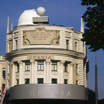 Urania is a public educational institute and observatory in Vienna, Austria