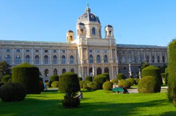 Naturhistorisches Museum Vienna (Natural History Museum) in imperial Vienna, Austria