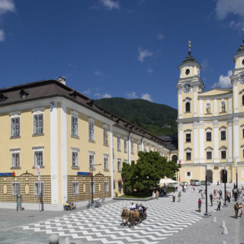 St Michael Basilica and the former Abbey in Mondsee